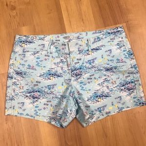 Women's Old Navy The Pixie Printed Shorts Size 12